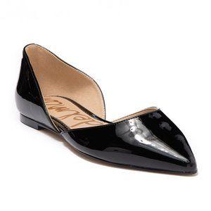 Sam Edelman Rodney d'Orsay Patent Leather Flat